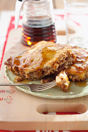 Peanut Butter and Banana Stuffed French Toast Thumbnail