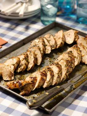 Herb-Rubbed Grilled Pork Tenderloin Thumbnail
