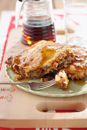 Peanut Butter and Banana-Stuffed French Toast Thumbnail