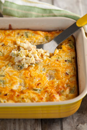 The Deen Bros. Lighter Creamed Corn Spoon Bread Thumbnail