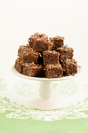 The Deen Bros. Lighter Creme de Menthe Brownies Thumbnail