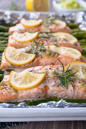 Fired Up Rosemary Salmon Thumbnail