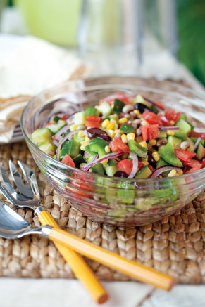 Black-Eyed Pea Greek Salad Thumbnail