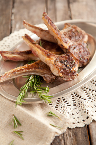 Grilled Rosemary Lamb Chops Thumbnail