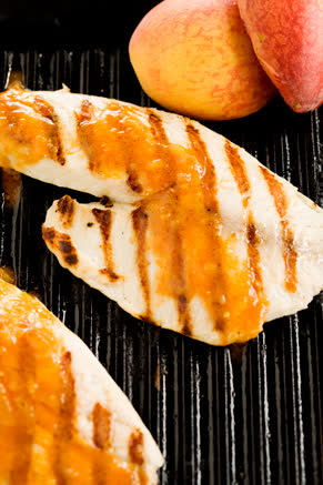 Grilled Tilapia with Peach BBQ Sauce Thumbnail