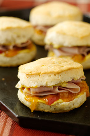 Ham and Chutney Hungry Brothers Biscuits Thumbnail