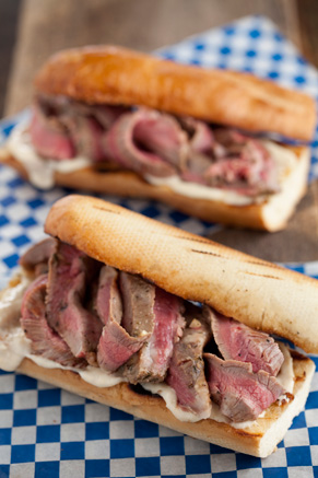 Michael's Grilled Steak Sandwiches Thumbnail