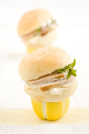 Mini Lemon Pork Sandwiches Thumbnail