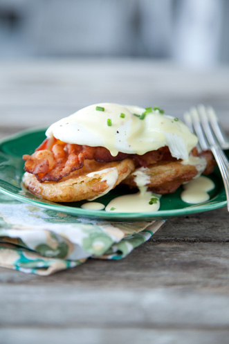 Paula's Fried Green Tomato & Egg Hollandaise Thumbnail
