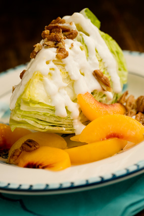Peach Pecan Iceberg Wedges Thumbnail