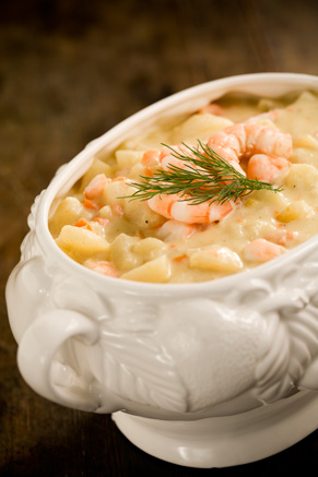 Potato Soup With Shrimp Thumbnail