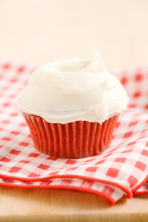 Lighter Red Velvet Cupcakes Thumbnail
