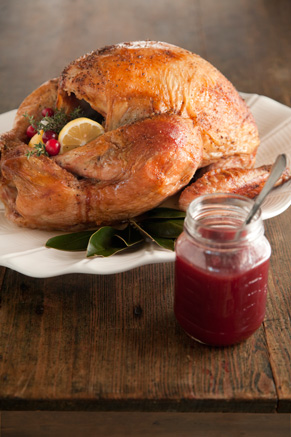 Roasted Turkey with Maple Cranberry Glaze Thumbnail