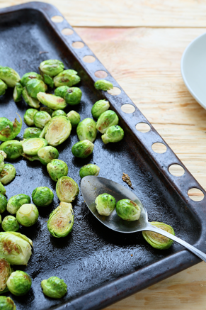 Roasted Brussels Sprouts With Lemon Zest Thumbnail