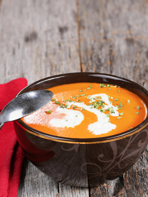 Roasted Carrot and Tomato Soup Thumbnail