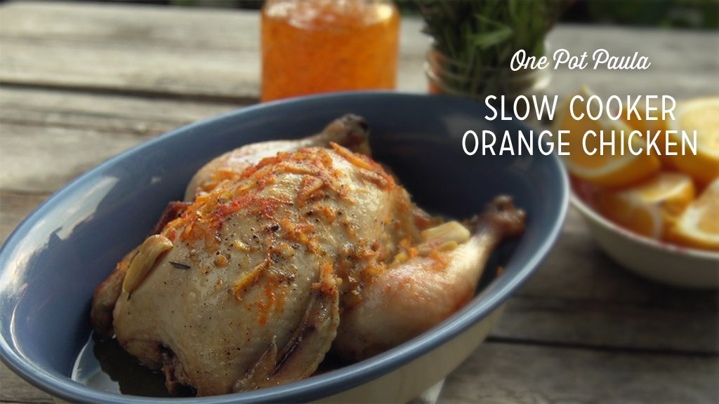Slow Cooker Orange Chicken Thumbnail