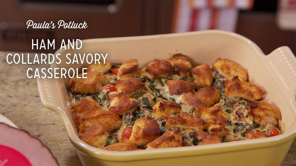Ham and Collards Savory Casserole Thumbnail