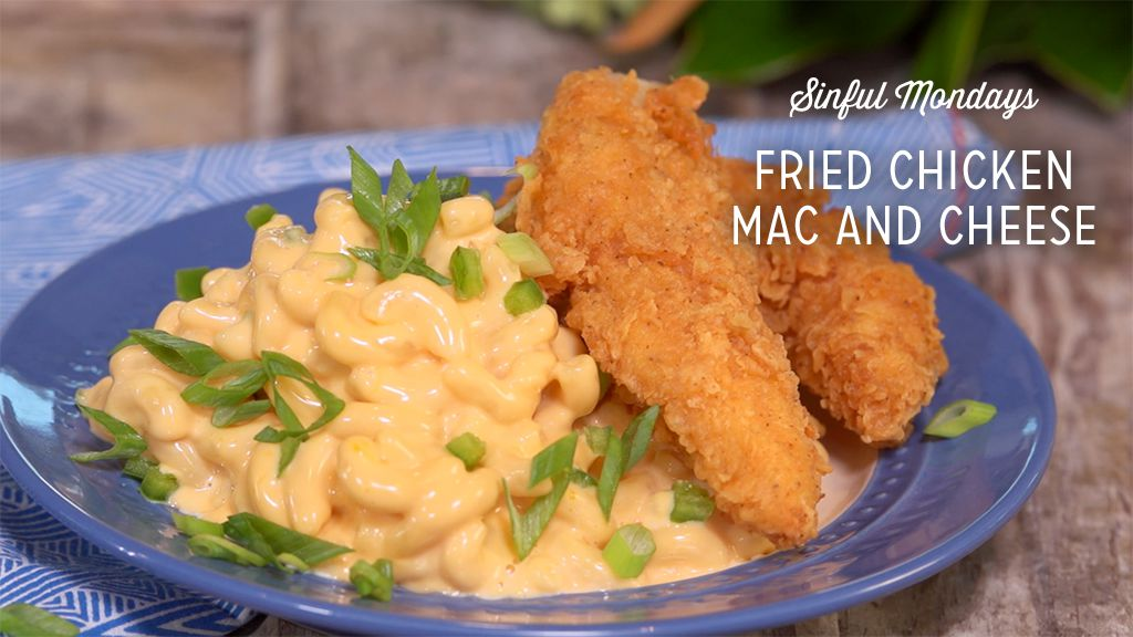 Fried Chicken Mac and Cheese Thumbnail