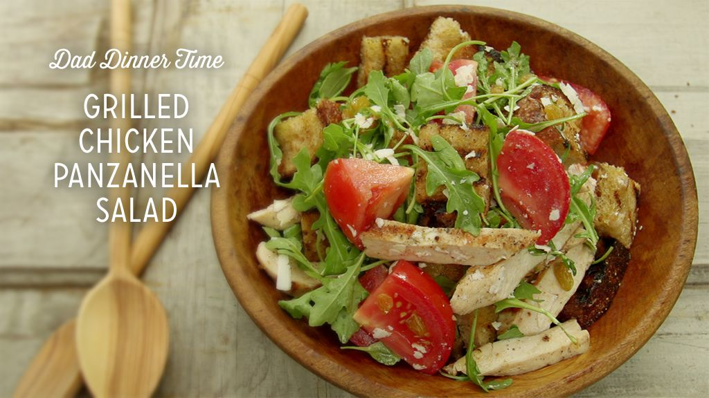 Grilled Chicken Panzanella Salad Thumbnail