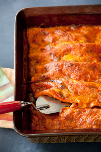 Simple Perfect Enchiladas Thumbnail