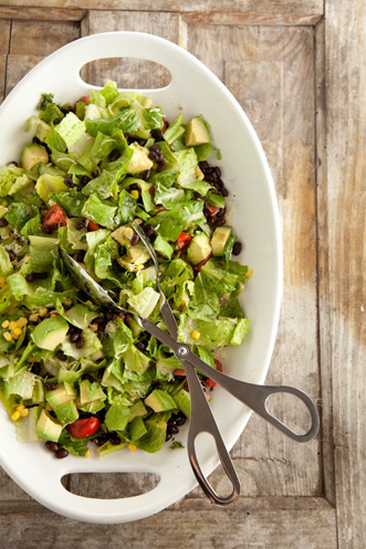 Southwestern Avocado and Black Bean Salad Thumbnail