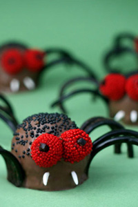 Creepy Crawly Brownie Spider Bites Thumbnail