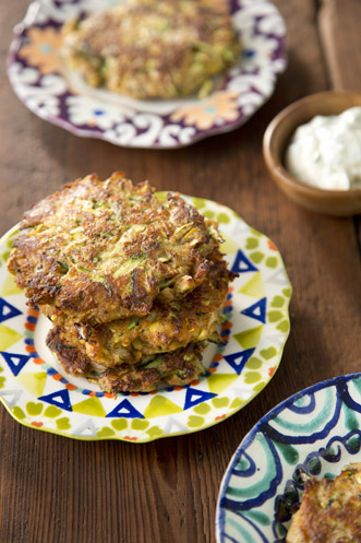 Squash and Zucchini Cakes Thumbnail
