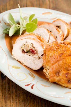 Lighter Stuffed Turkey Breast Thumbnail