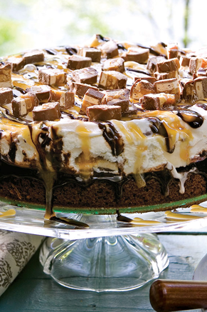 Ooey Gooey Chocolate Ice Cream Cake Thumbnail