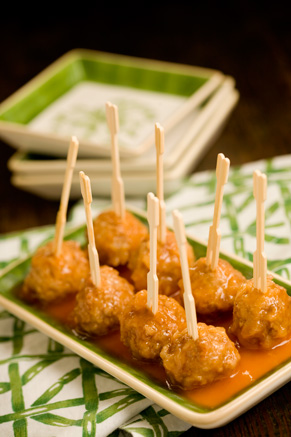 Sweet and Mild Meatball Appetizers Thumbnail