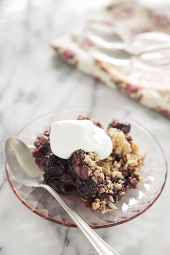 Sweet Black Cherry Crisp Thumbnail