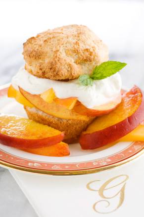 The Lady's Peach Shortcake Thumbnail