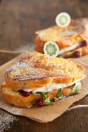 Turkey Cranberry Monte Cristo Thumbnail