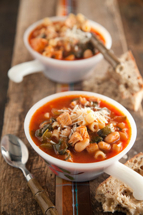 Turkey Minestrone Thumbnail