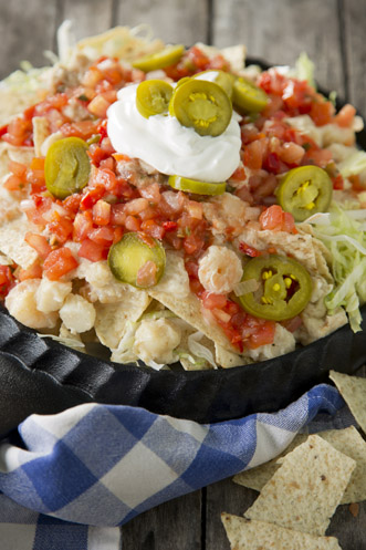 Uncle Bubba's Seafood Nachos Thumbnail