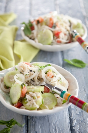 Lighter Crab Salad Thumbnail