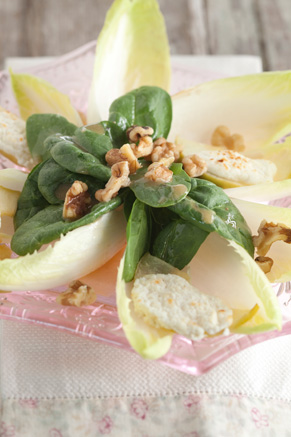 Warm Apple and Goat Cheese Salad Thumbnail