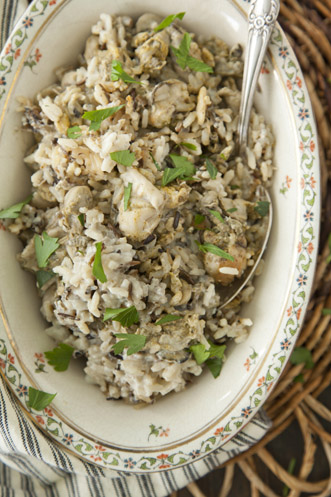 Wild Rice and Oyster Casserole Thumbnail